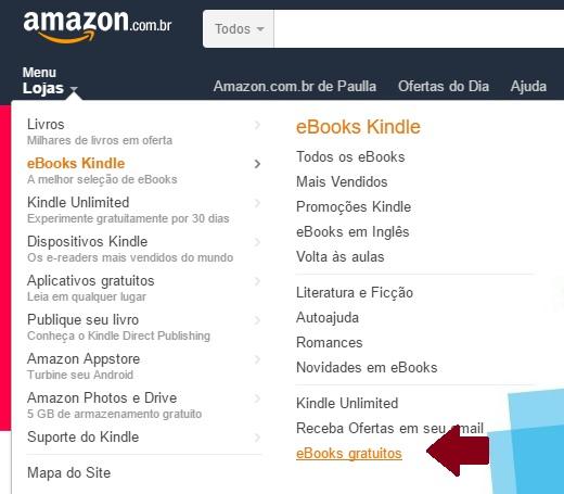 Livros grátis da Amazon