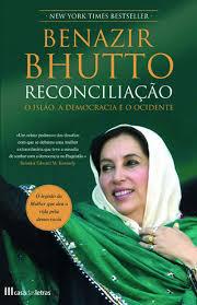 Capa do livro Reconciliação, de Benazir Bhutto