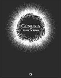 Capa da história em quadrinhos Gênesis, de Robert Crumb