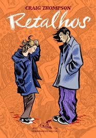 Capa da história em quadrinhos Retalhos, de Craig Thompson