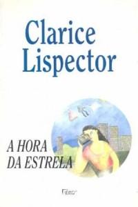 Capa do livro A hora da estrela, de Clarice Lispector