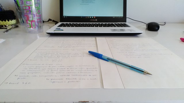 Estudando curso online
